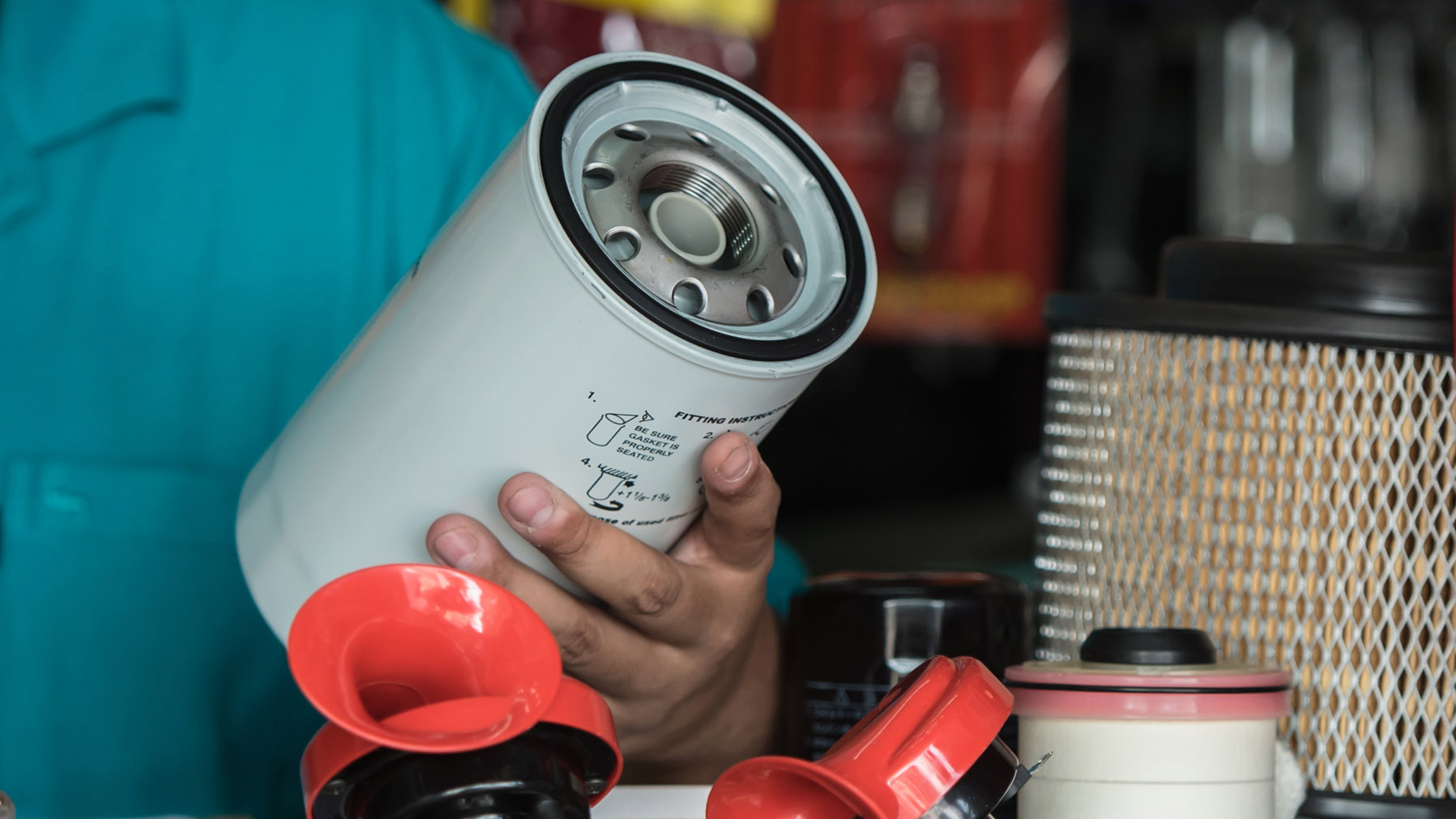 Amsoil Synthetic Oil & Air Filtration